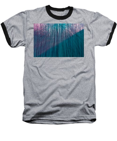Waterfall Abstract Baseball T-Shirt