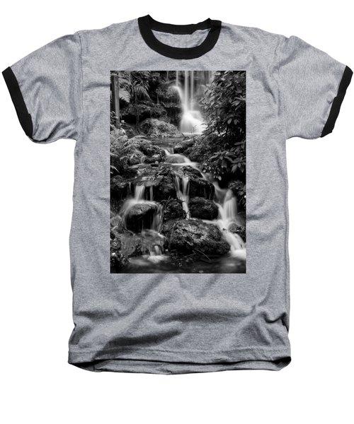 Waterfall At Rainbow Springs Baseball T-Shirt by Beverly Stapleton
