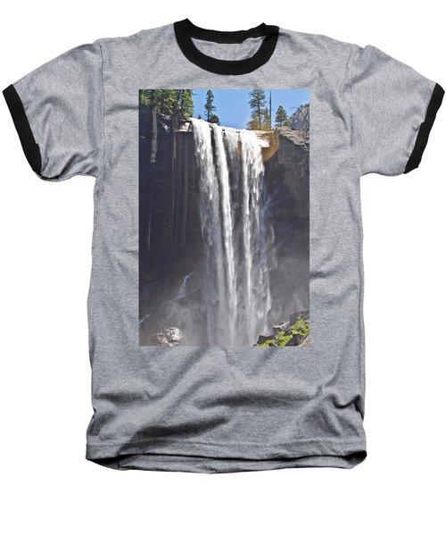 Waterfall Baseball T-Shirt by Brian Williamson