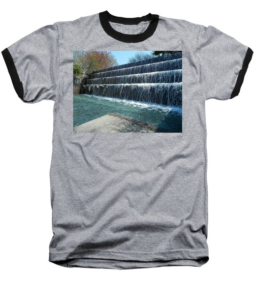 Baseball T-Shirt featuring the photograph Waterfall Heaven by Emmy Marie Vickers