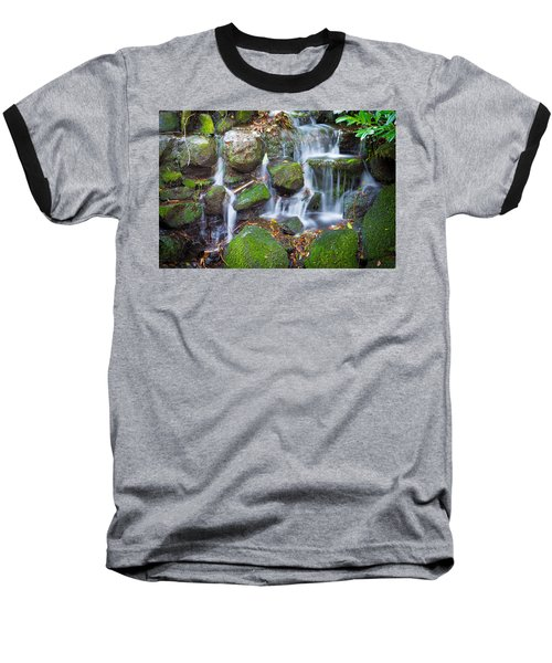 Waterfall In Marlay Park Baseball T-Shirt by Semmick Photo
