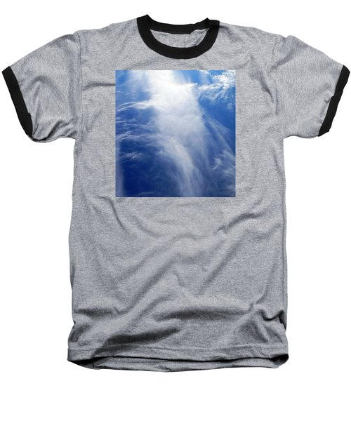 Waterfall In The Sky Baseball T-Shirt