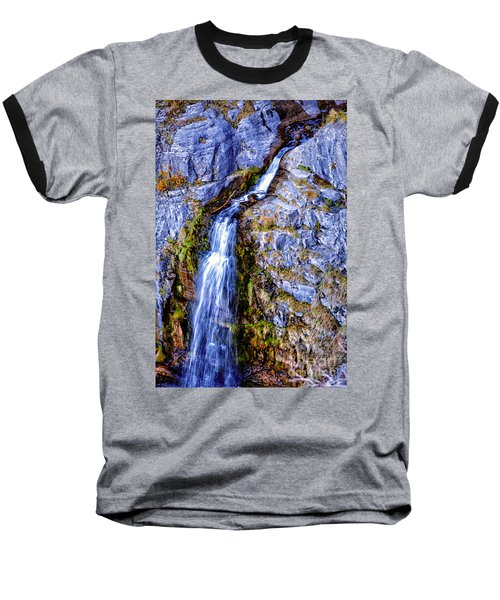 Waterfall-mt Timpanogos Baseball T-Shirt