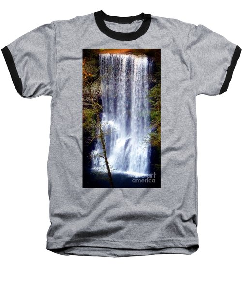 Waterfall South Baseball T-Shirt