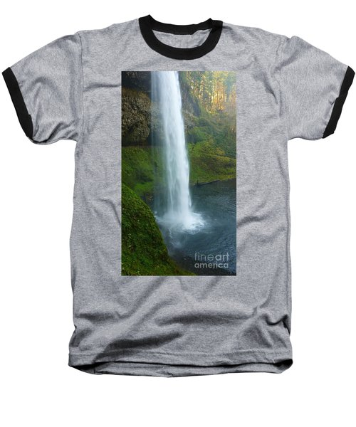Waterfall View Baseball T-Shirt