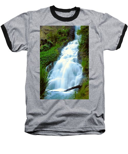 Waterfalls In Golden Gate Park Baseball T-Shirt