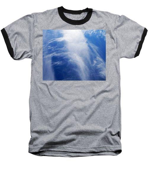 Waterfalls In The Sky Baseball T-Shirt by Belinda Lee