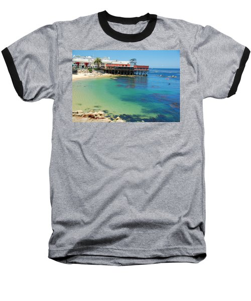 Waterfront At Cannery Row Baseball T-Shirt