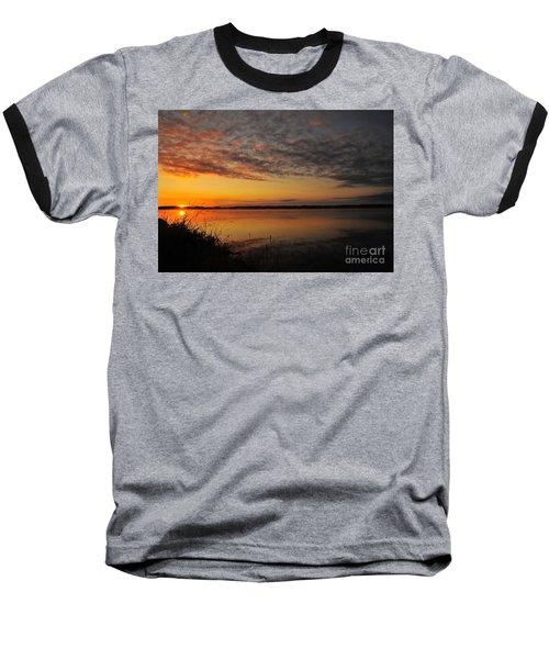 Waterfront Dawn Baseball T-Shirt