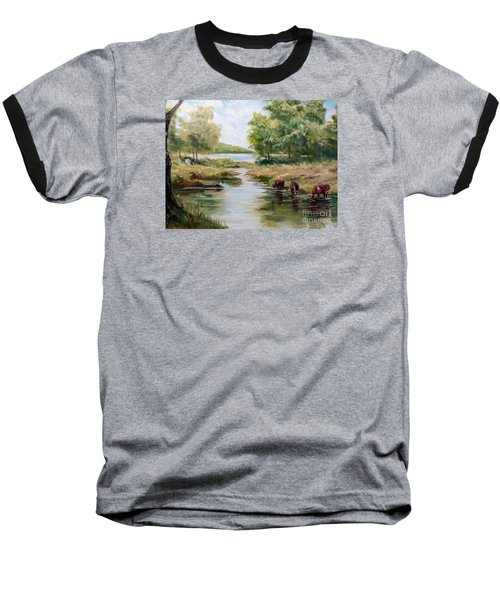 Waterloo Baseball T-Shirt by Lee Piper