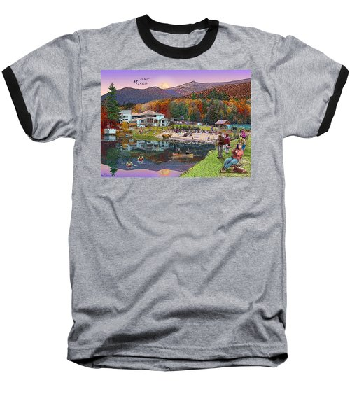 Waterville Estates In Autumn Baseball T-Shirt
