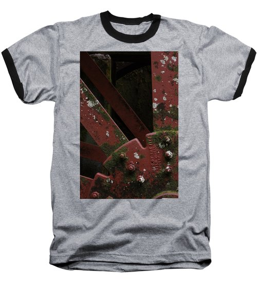 Baseball T-Shirt featuring the photograph Waterwheel Up Close by Daniel Reed
