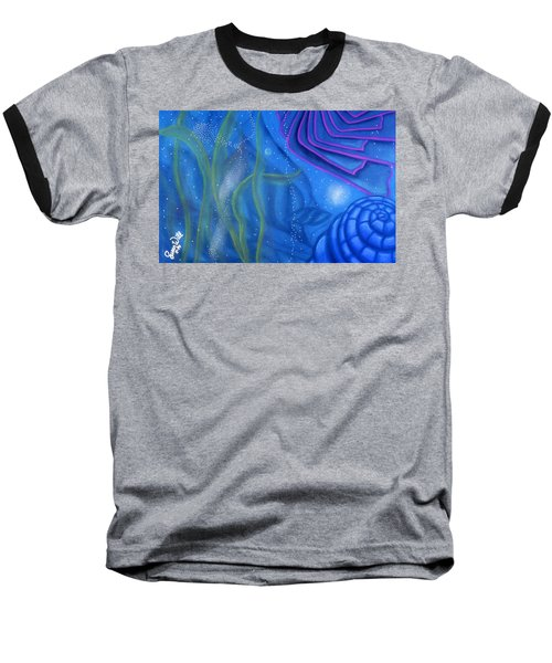 Watery Baseball T-Shirt