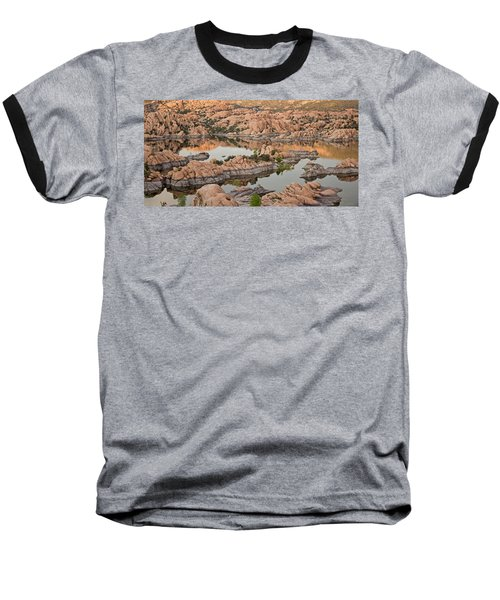 Watson Lake Sunset Baseball T-Shirt