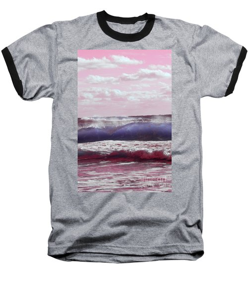 Wave Formation 2 Baseball T-Shirt