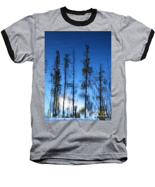Wavering Baseball T-Shirt by Brian Boyle