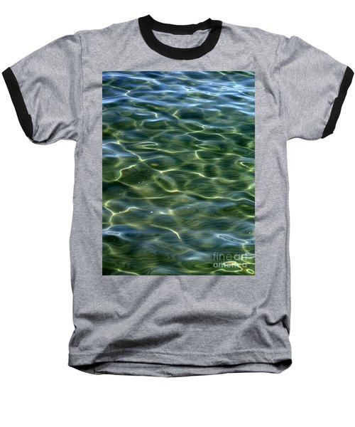 Waves On Lake Tahoe Baseball T-Shirt