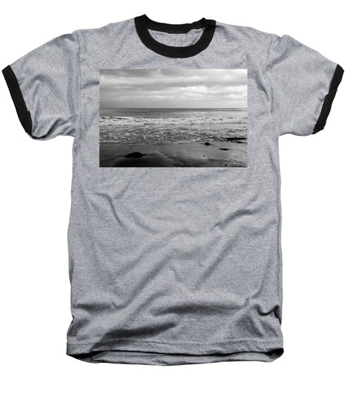 Waves Rolling In  Baseball T-Shirt