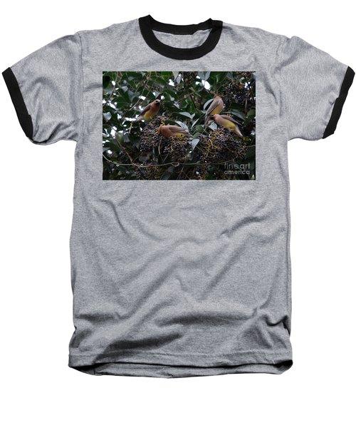 Wax Wings Supper  Baseball T-Shirt
