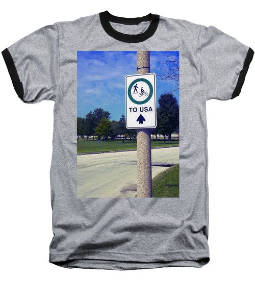 Way To The Usa Baseball T-Shirt