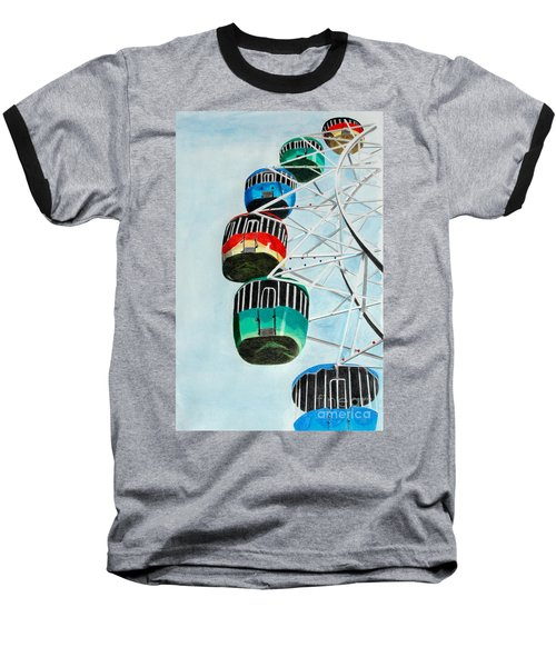 Way Up In The Sky Baseball T-Shirt