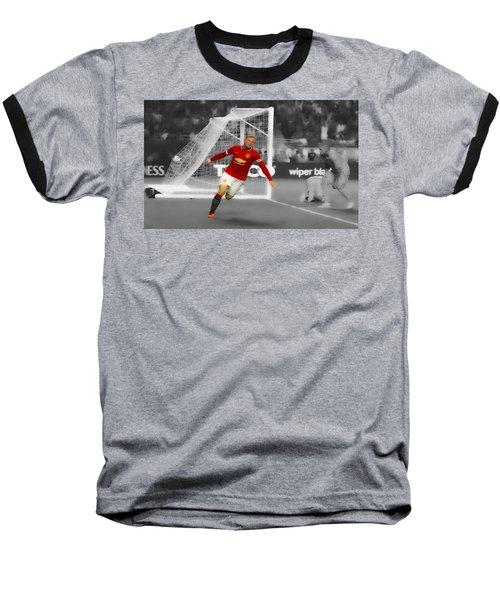 Wayne Rooney Scores Again Baseball T-Shirt