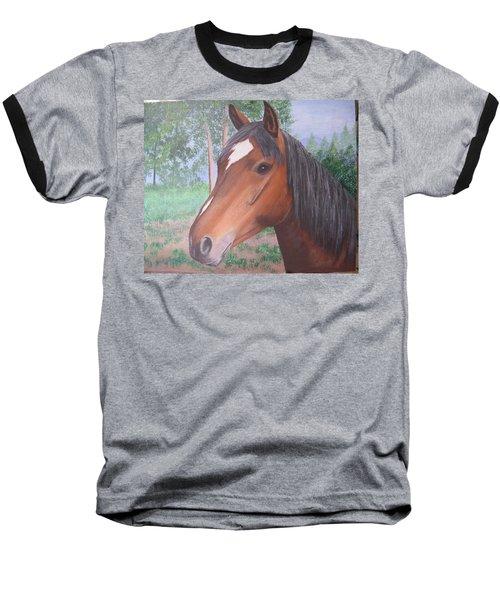Wayne's Horse Baseball T-Shirt