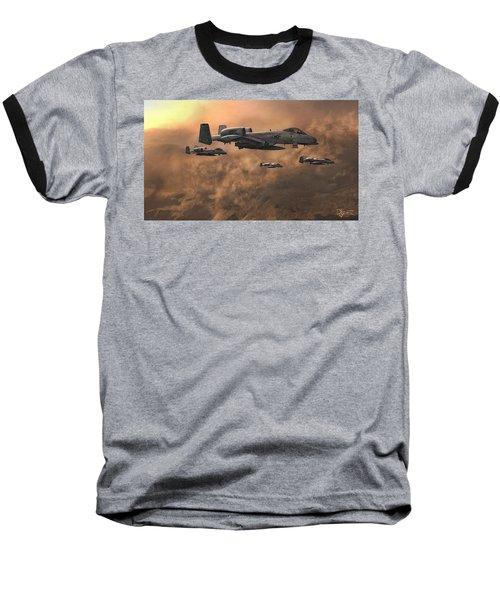 Waypoint Alpha Baseball T-Shirt