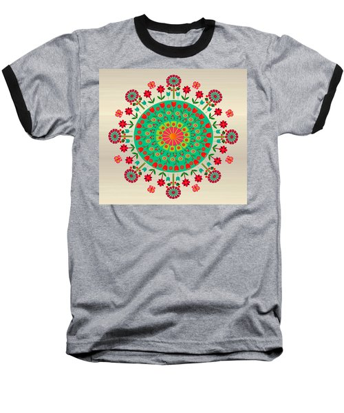 Wayuu Art Garden Baseball T-Shirt