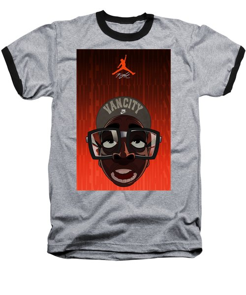 We Came From Mars Baseball T-Shirt by Nelson Dedos  Garcia