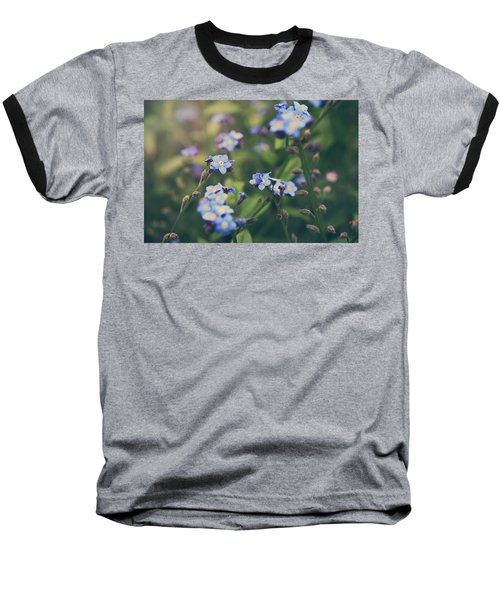 We Lay With The Flowers Baseball T-Shirt