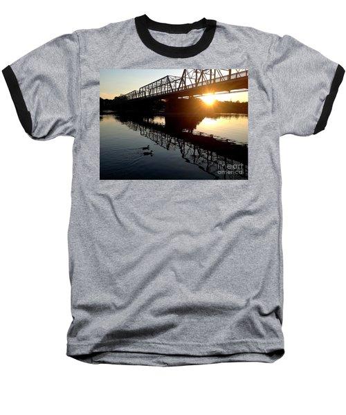 We Move Into The Light - 3 Baseball T-Shirt