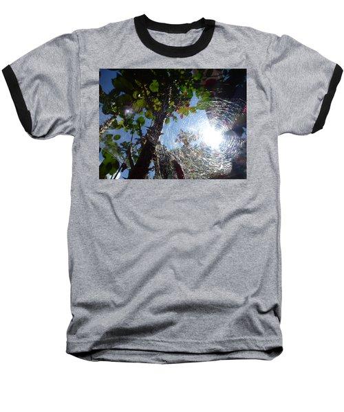 Web Baseball T-Shirt