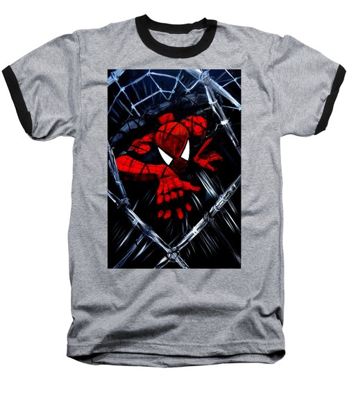 Web Crawler Baseball T-Shirt