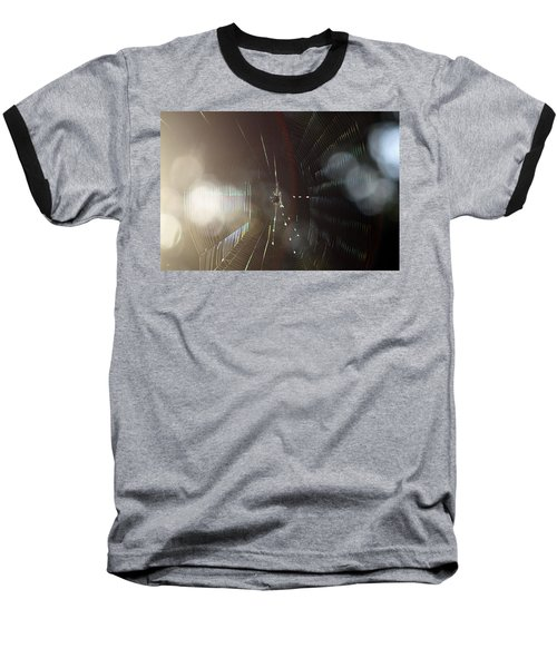 Baseball T-Shirt featuring the photograph Web Of Flares by Greg Allore