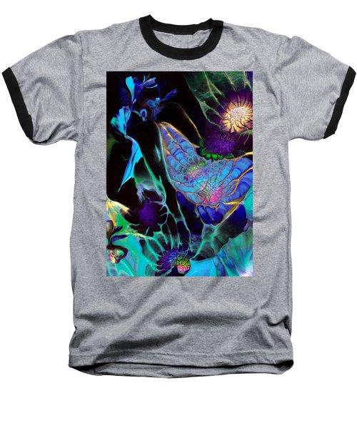 Webbed Galaxy Baseball T-Shirt