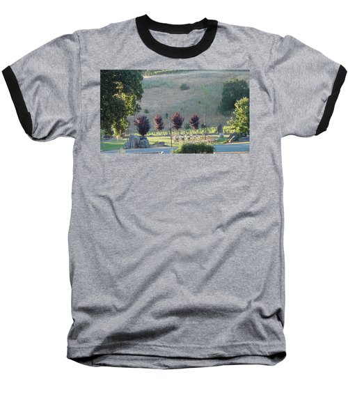 Baseball T-Shirt featuring the photograph Wedding Grounds by Shawn Marlow