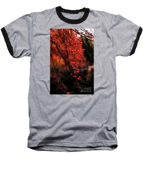 Baseball T-Shirt featuring the photograph Weeping by Linda Shafer