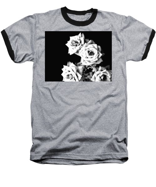 Baseball T-Shirt featuring the photograph Weeping Roses by Rachel Mirror