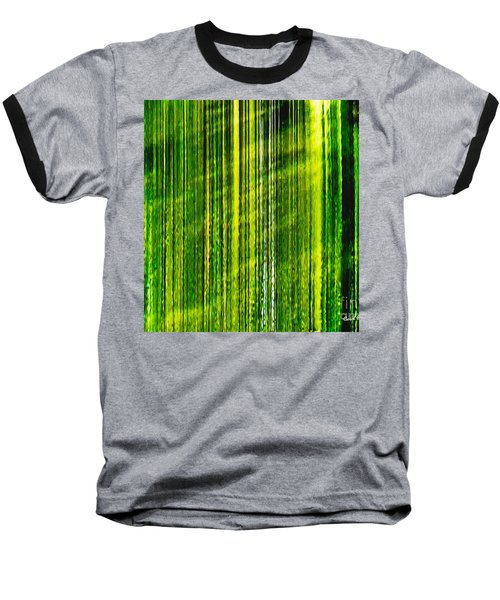Weeping Willow Tree Ribbons Baseball T-Shirt