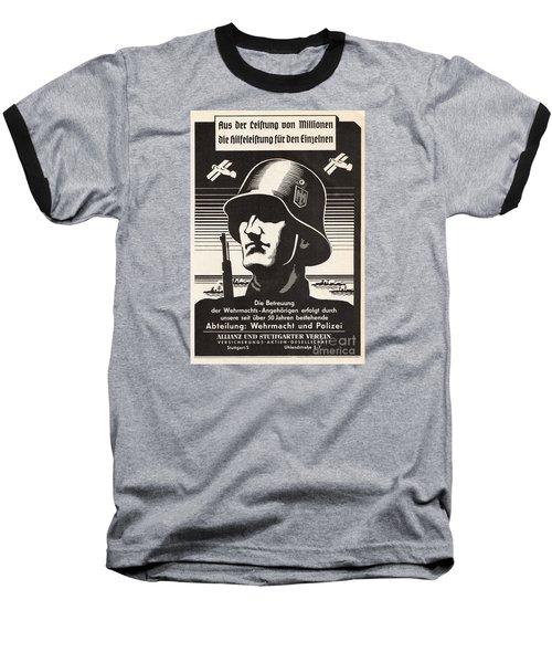Wehrmacht Baseball T-Shirt