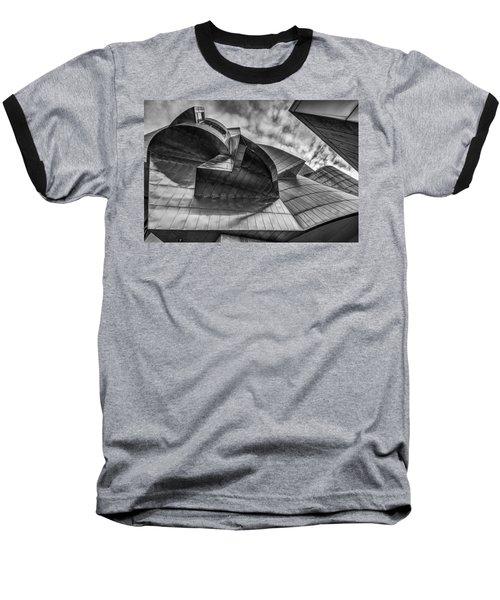 Weisman Art Museum Baseball T-Shirt by Tom Gort