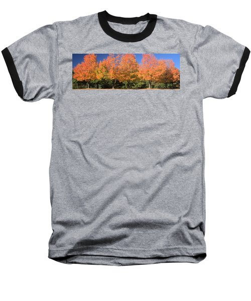 Baseball T-Shirt featuring the photograph Welcome Autumn by Gordon Elwell