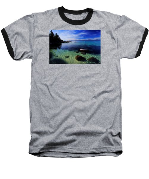 Baseball T-Shirt featuring the photograph Welcome To Bliss Beach by Sean Sarsfield