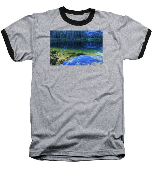 Baseball T-Shirt featuring the photograph Welcome To Eagle Lake by Sean Sarsfield