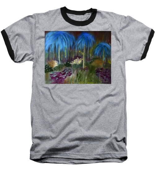 Welcome To The Jungle Baseball T-Shirt by Dick Bourgault