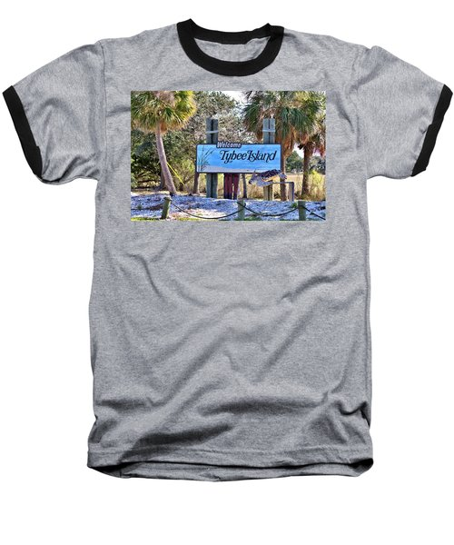 Welcome To Tybee Baseball T-Shirt