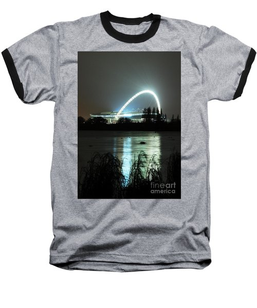 Wembley London Baseball T-Shirt