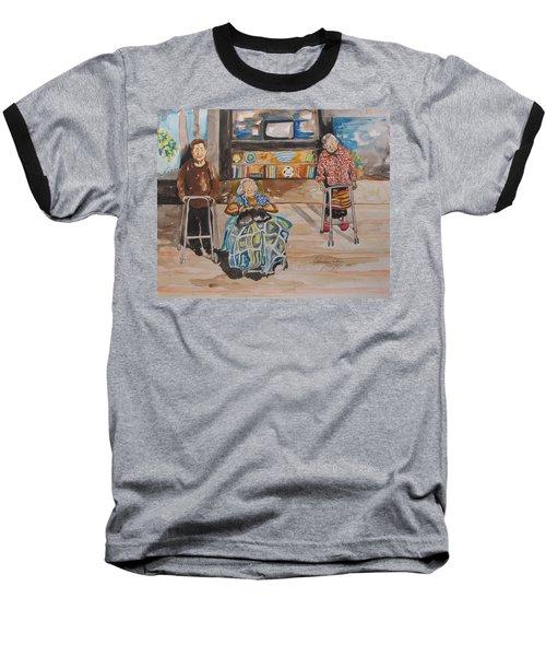 We're Still Here Baseball T-Shirt