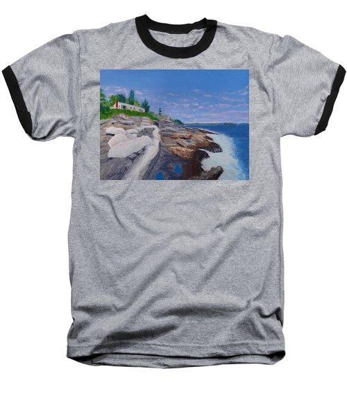 Weske Cottage Baseball T-Shirt